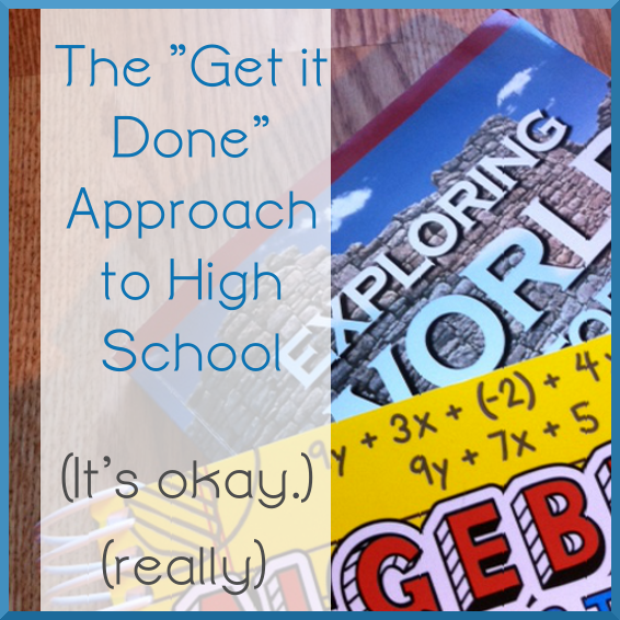 The Get it Done Approach to High School
