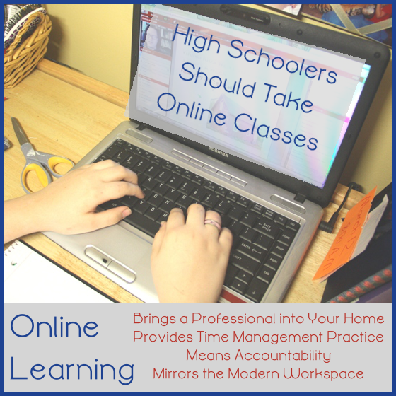 Why Teens Should Take Online Classes by Jimmie Lanley at Let's Homeschool High School