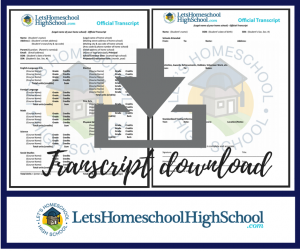 LHSHS transcript download