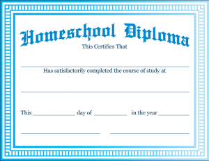 photograph regarding Printable Home School Diploma referred to as Down load: Homeschool Significant Higher education Degree Templates