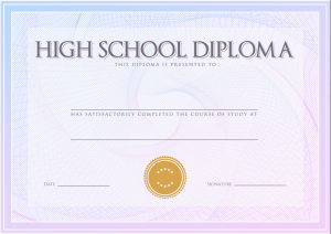 photo about Printable Home School Diploma titled Obtain: Homeschool Superior University Degree Templates