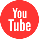 YouTube circular icon