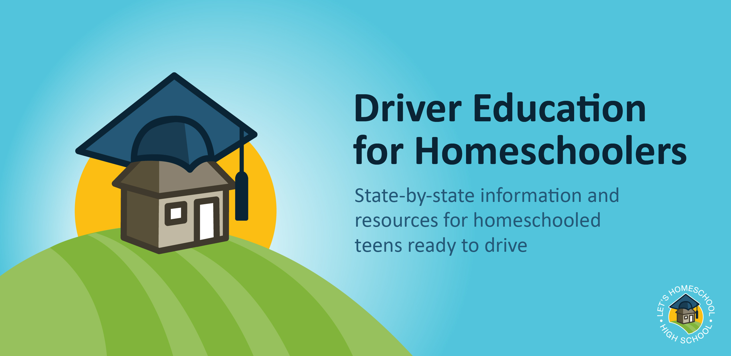 Driver Education for Homeschoolers Banner