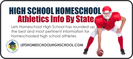 High School Homeschool Athletics Info by State