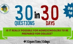 Is it possible for homeschoolers to be college ready?