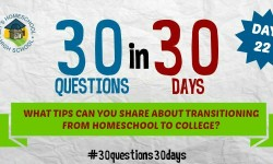 homeschool transition