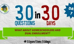 What About Homeschoolers and Dual Enrollment?