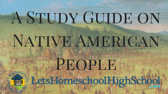 Native American People Study Guide