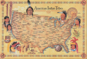 tribe map