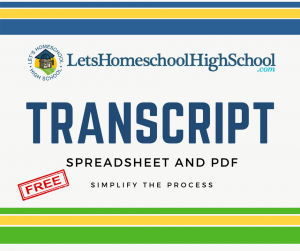 Transcript Download and Spreadsheet