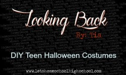 DIY Teen Halloween Costumes