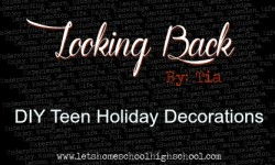 DIY Teen Holiday Decorations