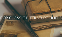Classic Literature Unit Studies