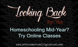 Homeschooling mid-year? Try online classes