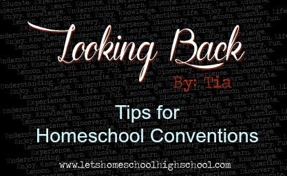 Tips for Homeschool Conventions