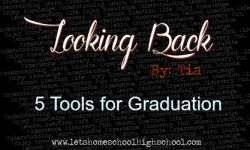 5 Tools for Graduation