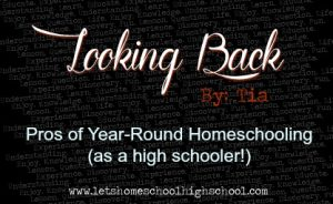 Pros of Year-Round Homeschooling