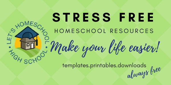 Stress Free Homeschool Resources