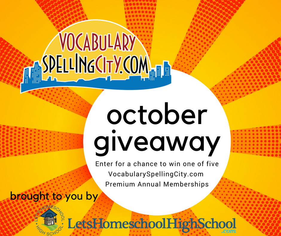 Vocabulary Spelling City Giveaway