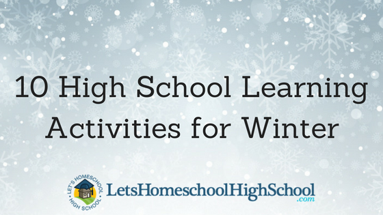 10 High School Learning Activities for Winter
