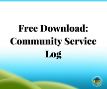 Free Download: Community Service Log