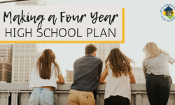 Making a Four Year High School Plan