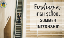Finding a High School Summer Internship