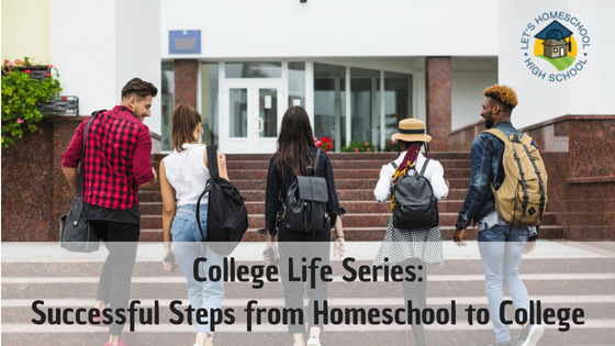 Next in our series: moving from homeschool to college!