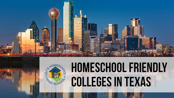 Homeschool Friendly Colleges in Texas