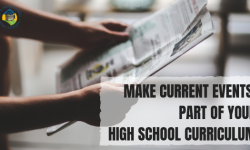 studying current events in your homeschool