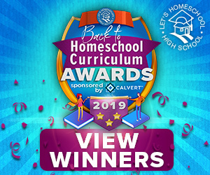 Back to Homeschool Curriculum Awards