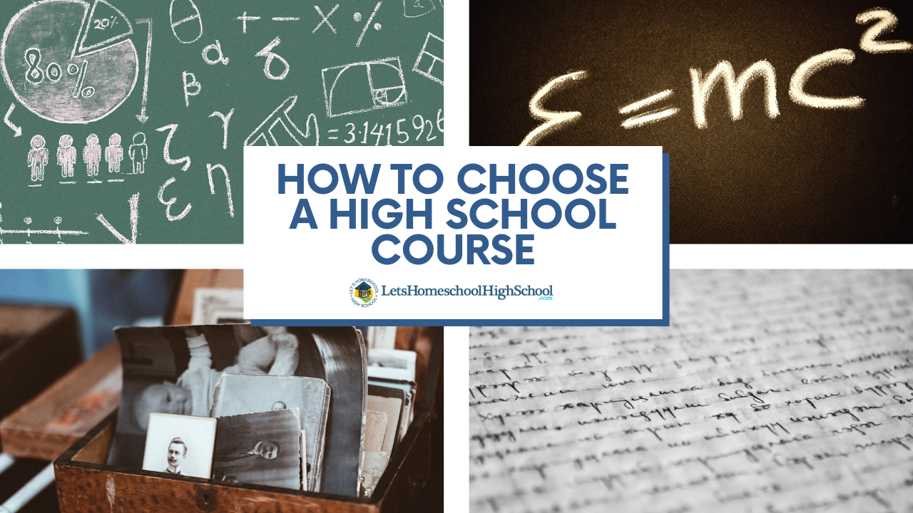 How to Choose a High School Course